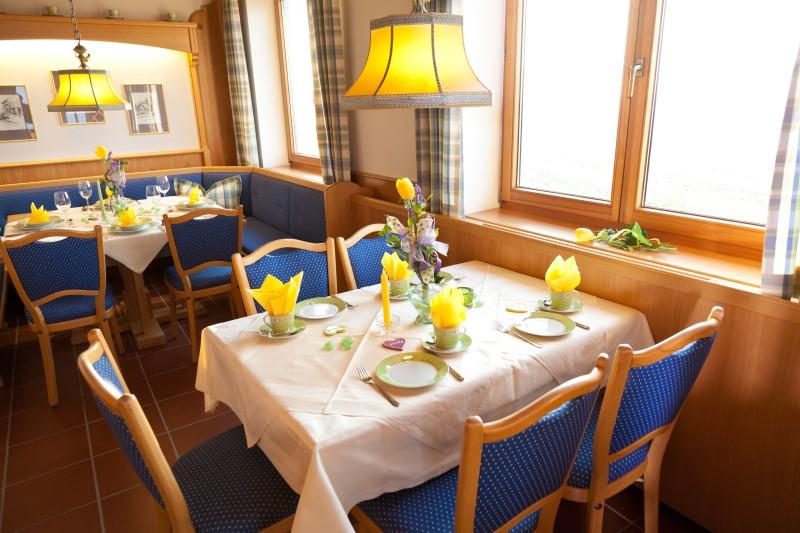 """Gasthof """"Zur Platte"""" - Waldrestaurant und Pension - Gasträume"""